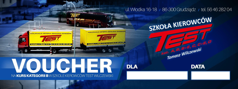 Voucher - Szkoła Kierowców TEST Grudziądz